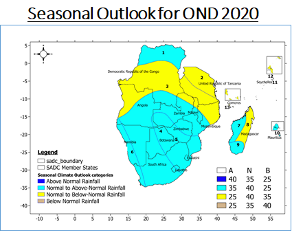 Climate Outlook: SARCOF-24